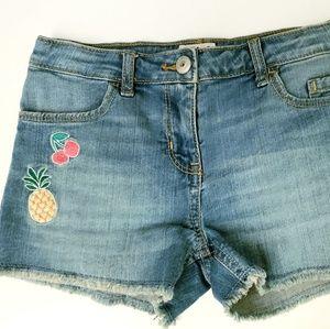 Oshkosh bgosh girls shorts 7 adjustable waist euc